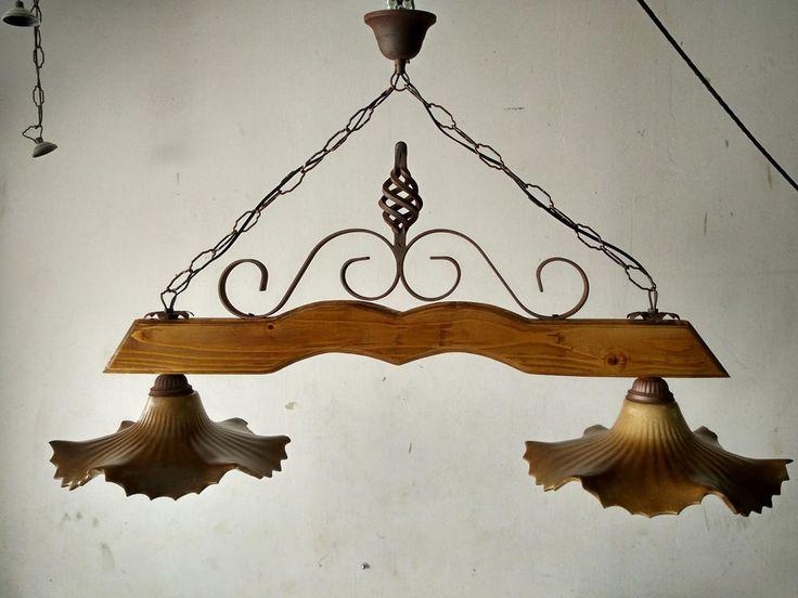 ... Lampadario In Legno su Pinterest  Lampadario a goccia e Lampadario di