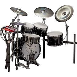 Pearl E-Pro Live Electronic Acoustic Drum Set With Zildjian Gen 16 Cymbals
