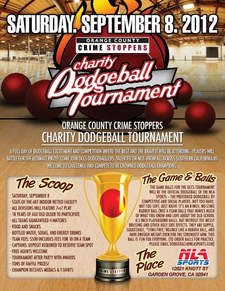 OCCS Dodgeball Tournament Fundraiser