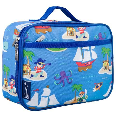 Wildkin Insulated Lunch Bag - Pirates.