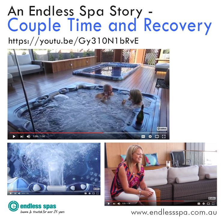 Reconnect with loved ones with @EndlessSpas and @artesianspas! https://www.youtube.com/watch?v=Gy310N1bRvE