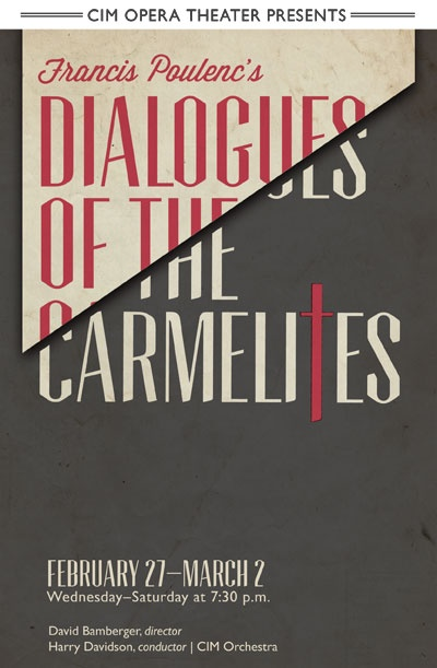 """Francis Poulenc's """"Dialogues of the Carmelites"""" recounts the true story of an order of Carmelite nuns whose world collapses during the French Revolution. """"Dialogues"""" is a remarkably beautiful work with music that is at times hymnal and haunting. Though based on a dark period in 18th century French history, it raises questions that are as timely as today's news headlines. CIM will perform the opera in English allowing audiences to follow this dramatic tale to its emotionally gripping…"""