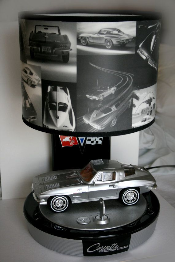 Vintage 1963 Corvette Sting Ray Lamp Corvettes Vintage