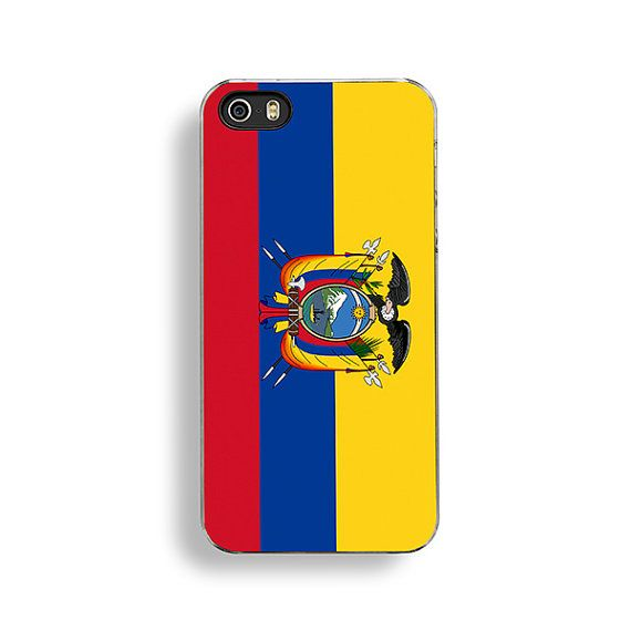 Flag of Ecuador iPhone Case by FlagOutfitters