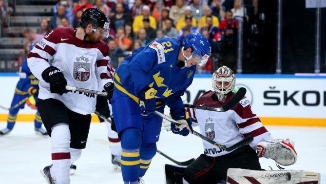 IIHF Ice Hockey World Championship 2015: Eriksson scores hat trick as Swedes slam Latvia. Read more @ http://www.allymon.com