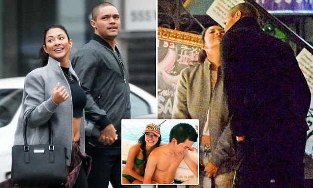Trevor Noah strolls with new model girlfriend Jordyn Taylor in New York