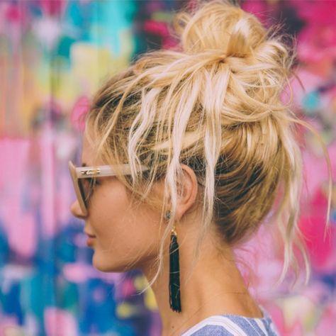Schnelle Haar-Hacks: 6 einfache Frisuren für Faule und Langschläfer – Jana F.