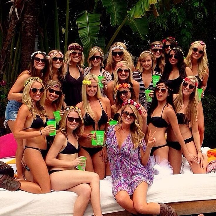 60 Beach Bachelorette Party Ideas