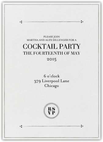23 best mad men inspired invitations images on pinterest mad men whether its cognac in the study or sidecars in the den make your next cocktail party the toast of the town start the festivities with our invitations stopboris Images