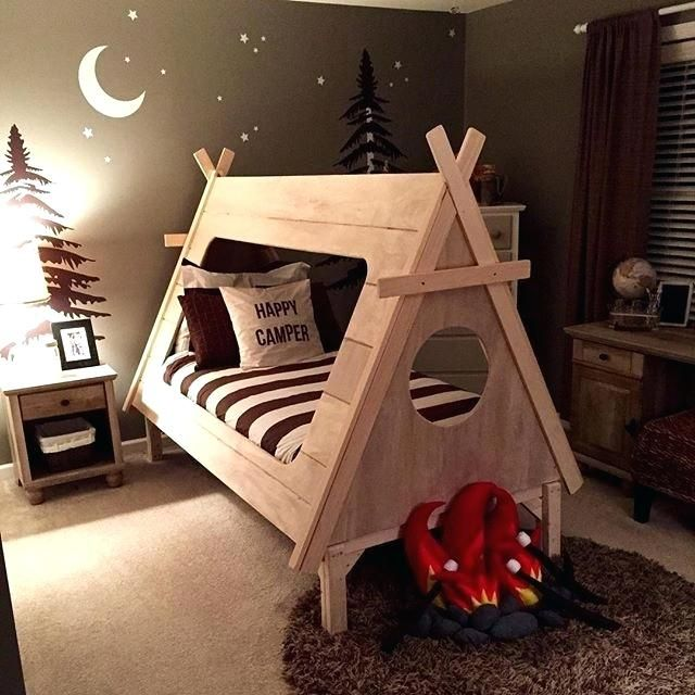 Camping Themed Room Adorable Camping Themed Room By Bacon Camping Themed Baby Room Camping Themed Camping Theme Bedroom Toddler Boy Room Themes Camping Room