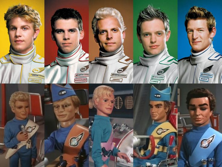 Thunderbirds old and new by Mobsie.deviantart.com
