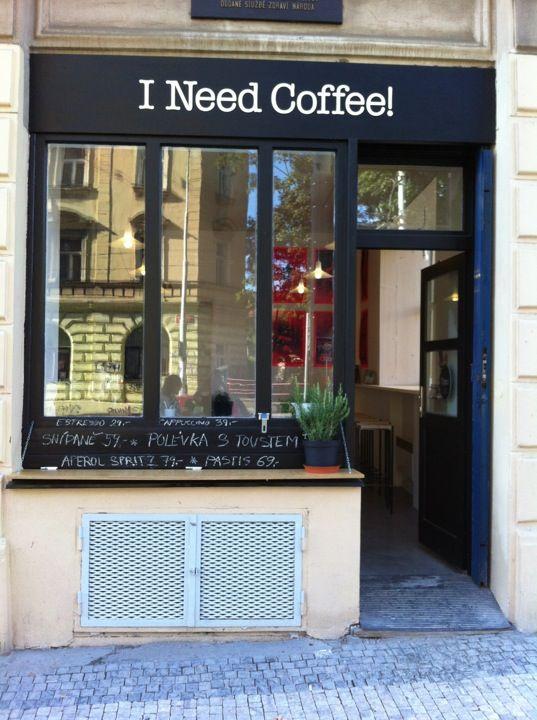 I Need Coffee! Prague Cafes