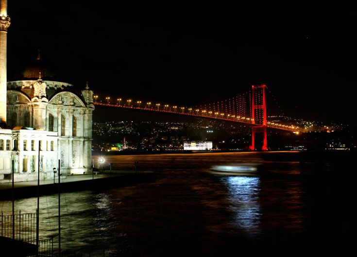 Istanbul... I miss it so much!  (This totally looks like it was taken from the House Cafe in Ortaköy... LOVE!!)