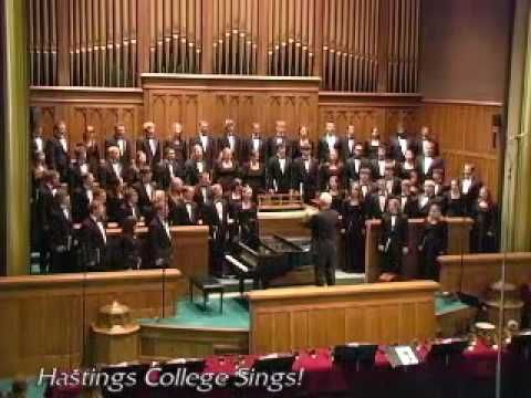 Dixie (The Hastings College Choir) - YouTube this song was banned from being played at UGA because  it was deemed Politically Incorrect.