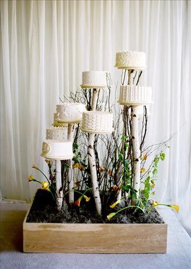 Wedding Cake And Dessert Table