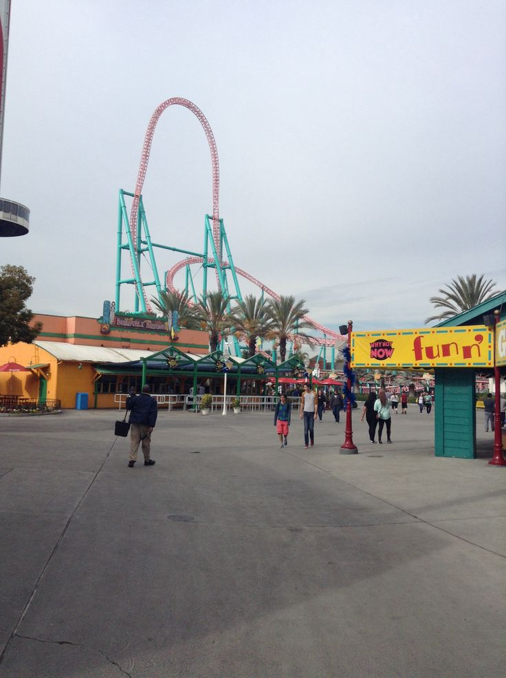 Knotts berry farm!