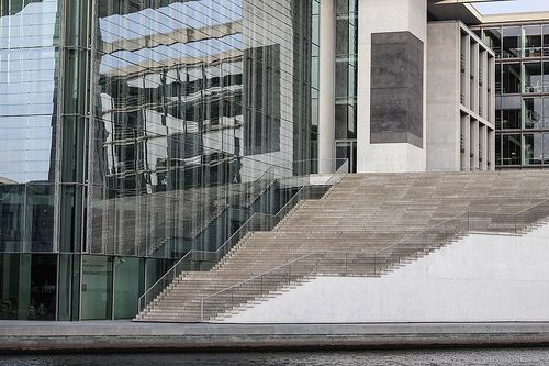 Berlin | Maria Elisabeth Luders Haus | bold.color.glass blog | Stair obsession inspired by @smgtreppen