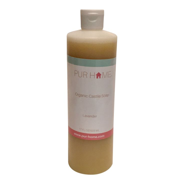 17 Fl Oz Organic Castile Soap. Made with Natural and Organic Ingredients.  Castile Soap has so many great uses including: Body Wash, Hand Wash, Shampoo and More
