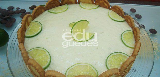 Torta holandesa de limão por Edu Guedes