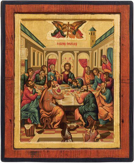 """Christusikone """"Das letzte Abendmahl"""""""