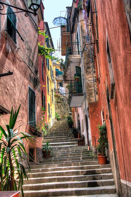 Riomaggiore, Cinque Terre, Italy                                                                                                                                                     More