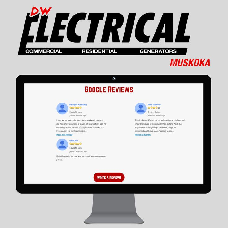 Real Clients. Real Reviews. See why our clients choose DW Electrical in Muskoka.