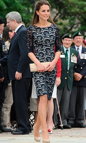 Kate Middleton wears Erdem at a friend's wedding     http://www.squidoo.com/kate-middleton-style