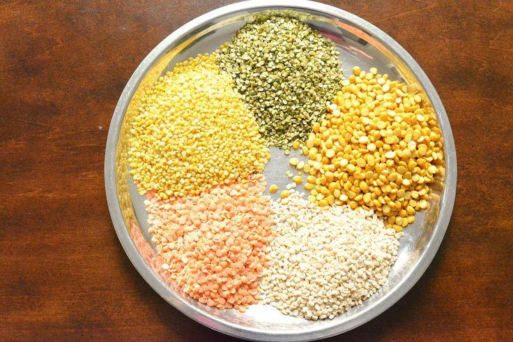 How to make Panchamel dal. Step by step Rajasthani Panchamal dal. Panchmel Dal also referred to as Panchratna Dal or panchpuran dal with no onion no garlic.