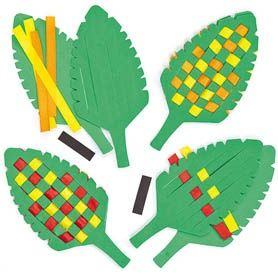Woven Leaf Craft for Autumn