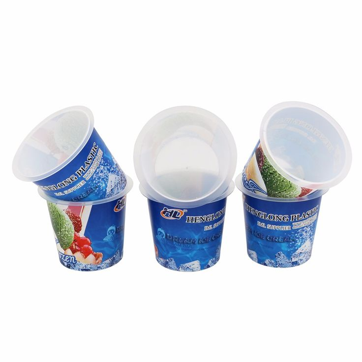 Hot Selling Disposable Clear Plastic Container, Yogurt Plastic Cup Factory