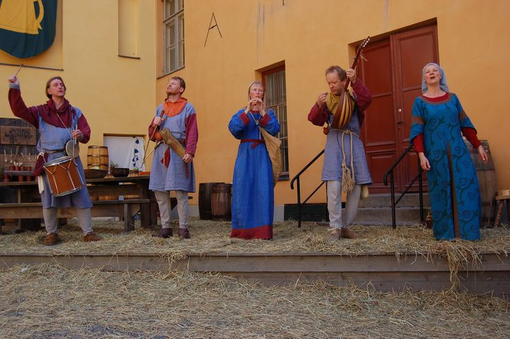 Anna Gradistanac - Comissatores Aboensis - Lauluja Turusta - The Medieval Market is Finland's largest medieval and historical event held at the Old Great Square of Turku on June 25th to 28th 2015, 12–20 on Thu–Fri and 12–18 on Sat–Sun.