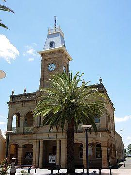 The Warwick town hall PALMERIN STREET
