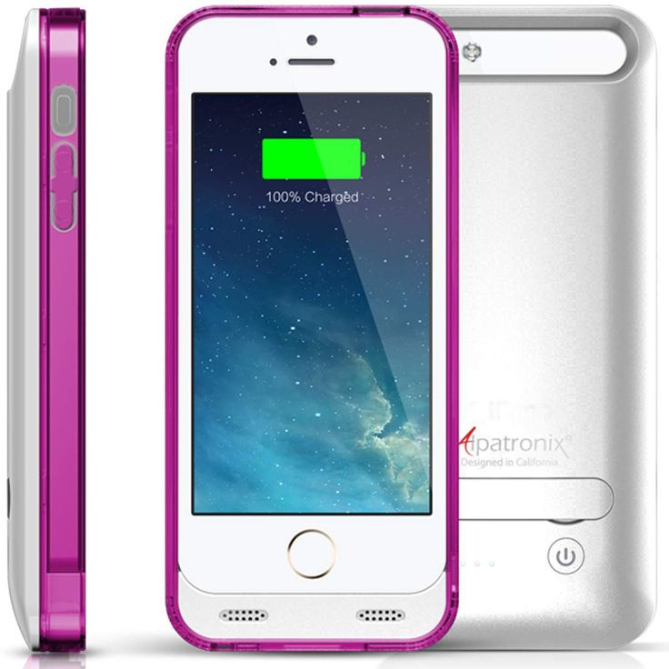Alpatronix BX120 iPhone 5/5S Battery Charging Case