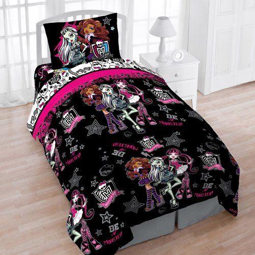 Perfect Mattel Monster High Creep Cool Reversible Twin Bedding Set Mattel,http://www