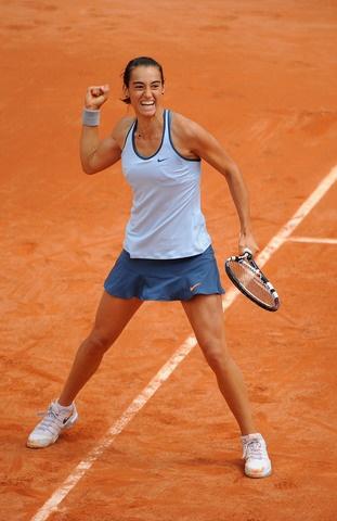 La Française Caroline Garcia a croqué en deux sets son adversaire du jour, l'Ukrainienne Yulia Beygelzimer.