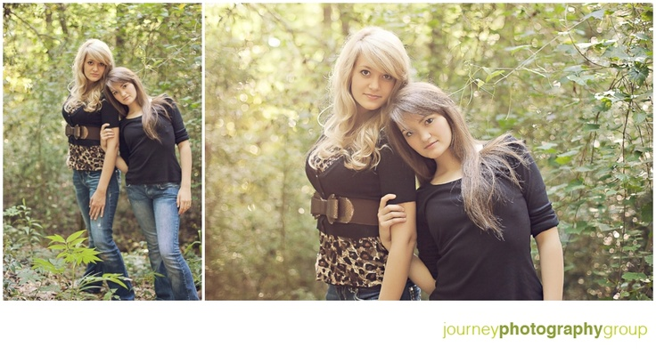 #senior #photography #pose #sisters