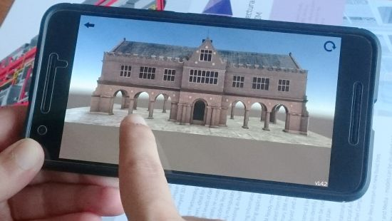BIM visualised in 3D to explore on a mobile app