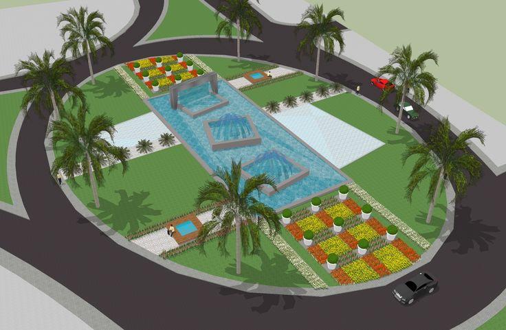 El-Baya Belediyesi Yol ve Kavşak Peyzaj Düzenlemesi BAĞDAT / IRAK-2010