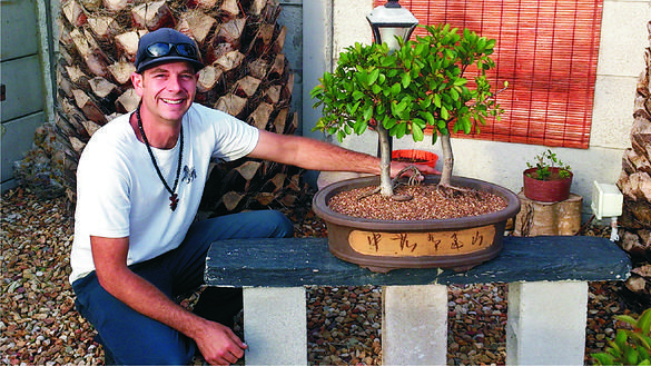 Henry Priestly, an Yzerfontein local, has an overwhelming passion for #Bonsai.