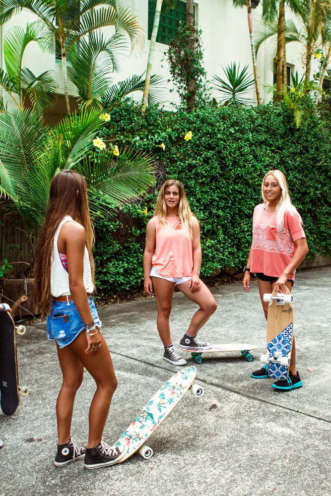 Palm board #girlzactive #skategirls