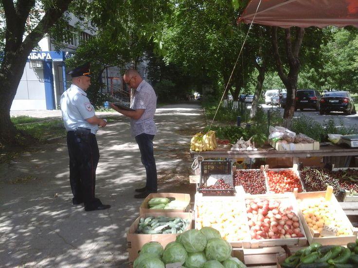 В Туле проверили овощные палатки