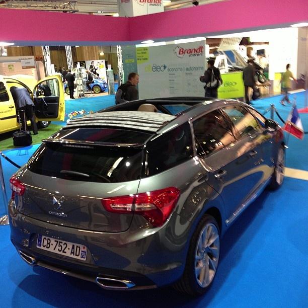 Presidential Citroën DS5 Hybrid4