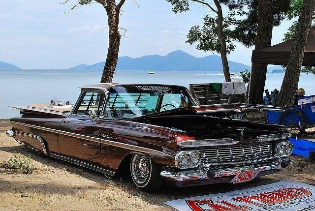 常夏の夏が似合う車といえば。くるまエルカミーノ