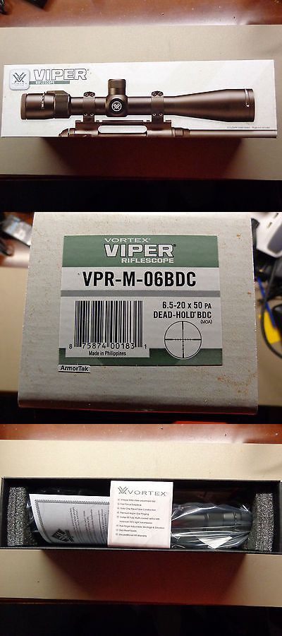Rifle Scopes 31714: Vortex Viper 6.5-20X50 Pa Scope Matte Dead Hold Bdc 30Mm Vpr-M-06Bdc -> BUY IT NOW ONLY: $429.99 on eBay!