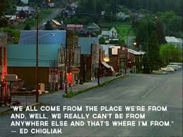 Cicely :)  we all come from the place we're from