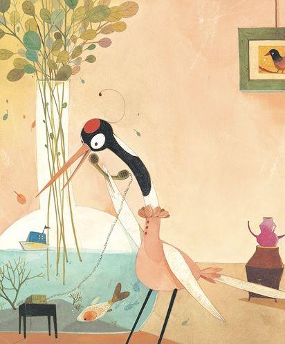❤ Lovely illustration!Eunsil Chun