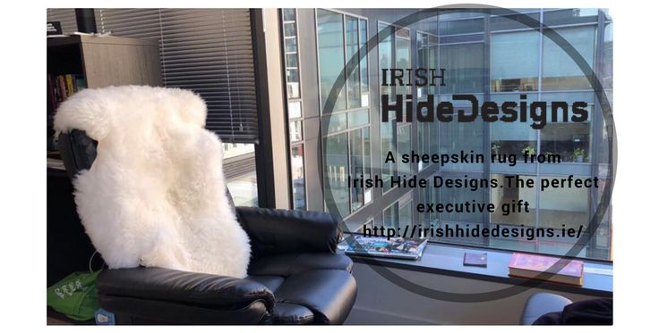 The perfect executive gift delivered anywhere in the world! http://irishhidedesigns.ie/product/inisbofin-lambskin-rug/