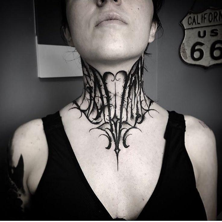 Throat by artist @gromov6666  #inksav