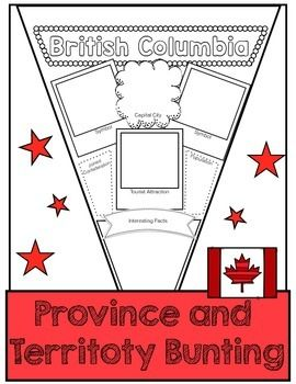 Have students show what they know after researching Canadian Provinces and Territories with this banner.  Nice classroom decoration too.