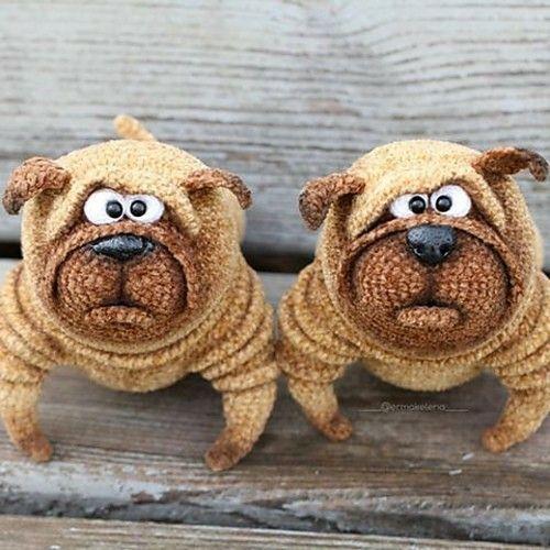 229 best perros #crochet#amigurumis# images on Pinterest | Hund ...